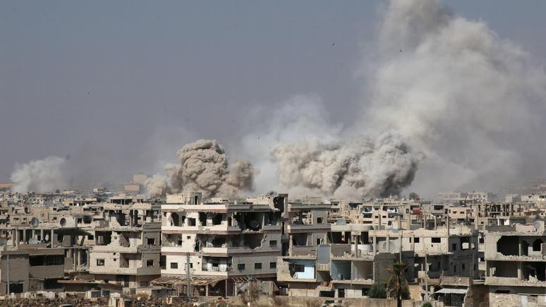 RFI: сирийская оппозиция отказалась говорить с Дамаском в Сочи