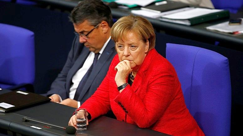 FAZ: каждый второй немец хочет ухода Меркель с поста канцлера Германии