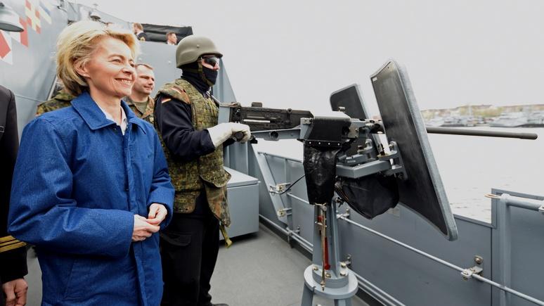 Tagesspiegel: в защите «моря мира» от посягательств России Германии выпала особая роль