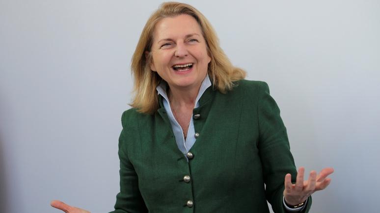 Глава МИД Австрии: санкции Запада дали осечку в России