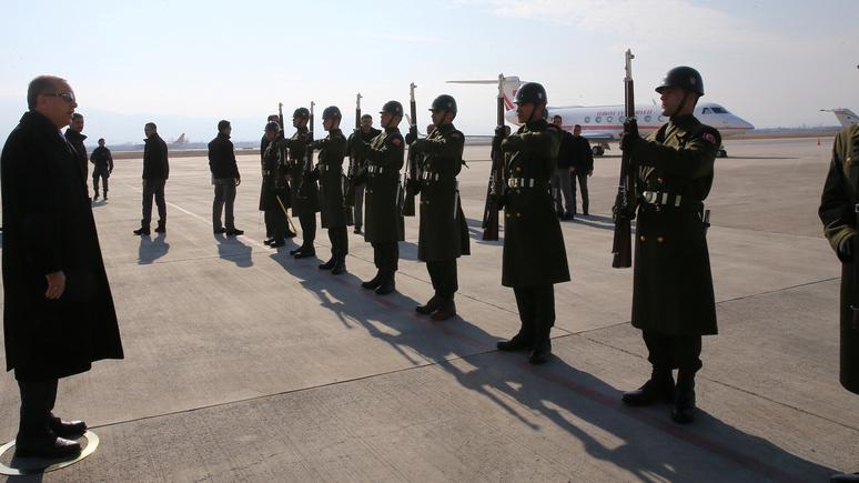 Globe and Mail: Турция «в ближайшие дни» предпримет военную операцию в курдском анклаве в Сирии