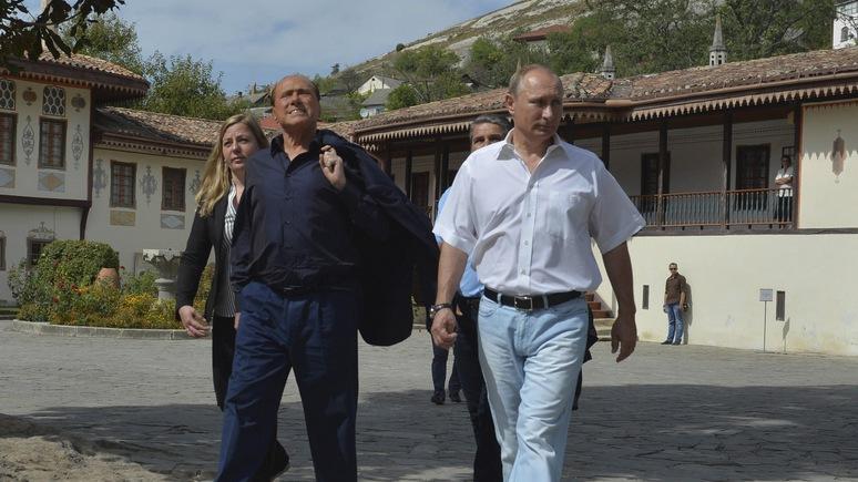 Обозреватель Bloomberg: в вопросе санкций Путину приходится рассчитывать лишь на Италию