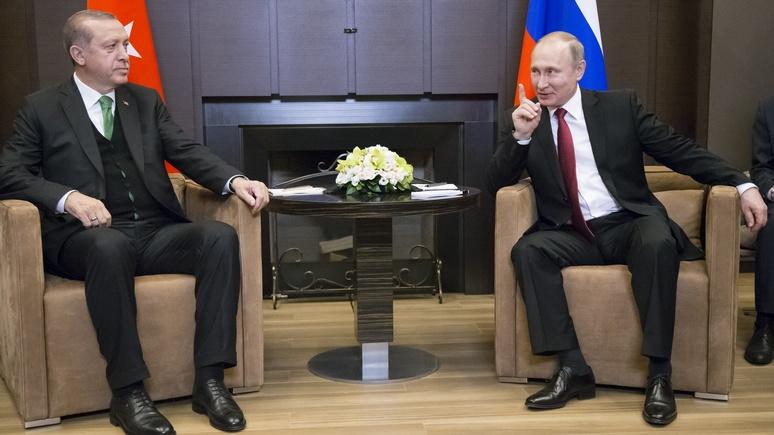 Deutsche Wirtschafts Nachrichten: Путин указал Эрдогану границы дозволенного в Сирии