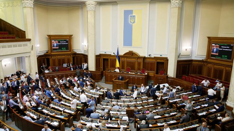ЛIГА.net: Верховная рада признала Россию агрессором