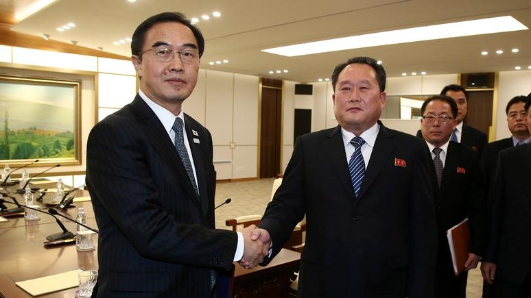 CM: мирный диалог Северной и Южной Кореи смешал карты стратегам из США