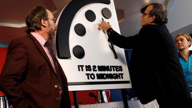 BAS: «часы Судного дня» пробили две минуты до полного уничтожения