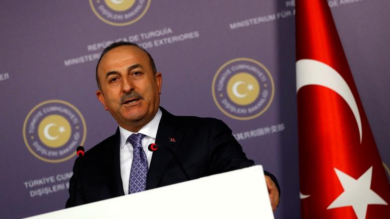 Глава МИД Турции: в сирийской войне Америка выбрала себе не того партнёра