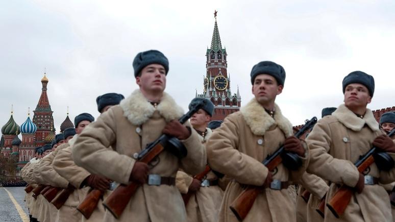 Global Times рассказала, как из образца Красная армия превратилась в предостережение