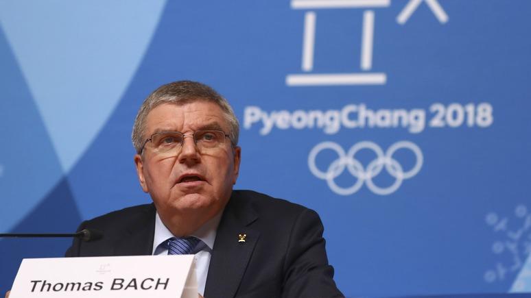 Deutschlandfunk: оправдательный приговор русским олимпийцам сильно разочаровал главу МОК