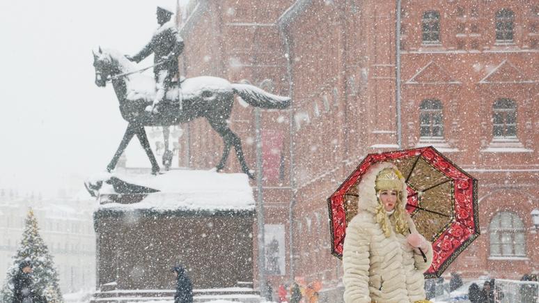 Ouest-France: на Москву обрушился самый мощный снегопад за всю историю метеонаблюдений