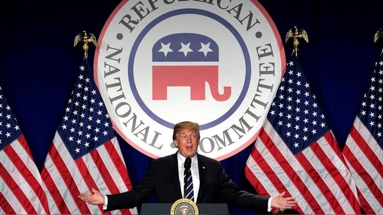 Times: Трамп раскалывает Республиканскую партию нападками на ФБР