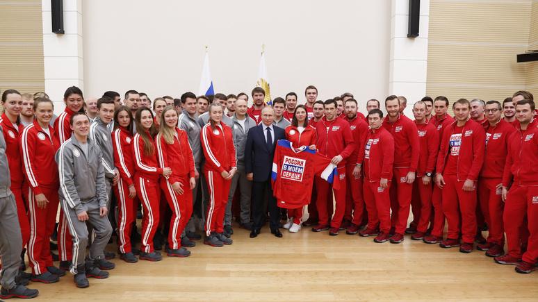 France Info: Путин «может похвастаться» одной из крупнейших команд на Олимпиаде