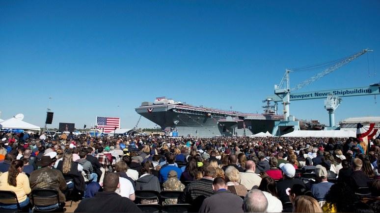 Task and Purporse: эксперты забраковали новый американский суперавианосец