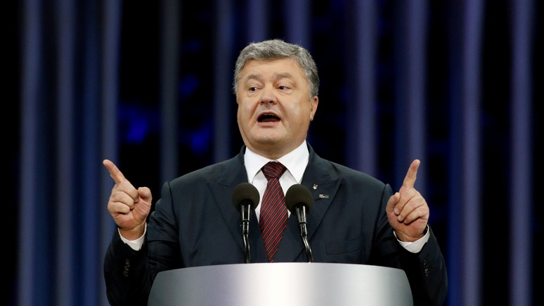 Die Zeit: интерес к «российскому вторжению» угас под обвинительные речи Порошенко