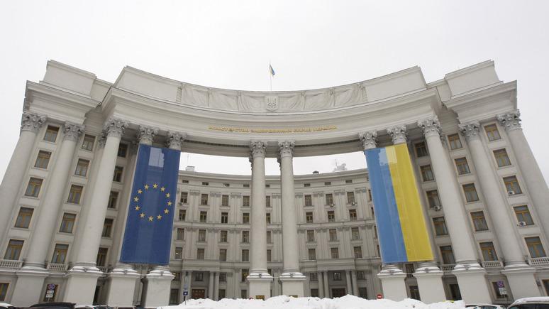 МИД Украины: белорусские миротворцы не должны появляться в Донбассе