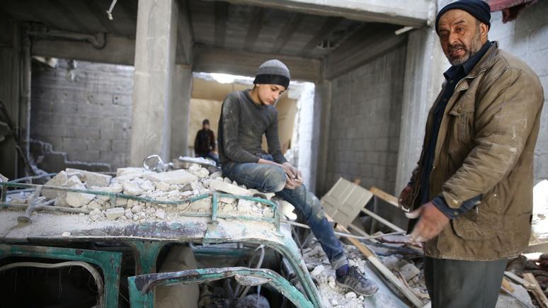 RTL: Лондон и Вашингтон обвинили Россию в гуманитарной катастрофе в Сирии