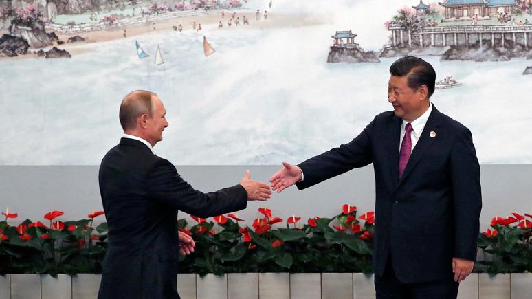 Beijing Time: российская экономика растёт не без помощи Китая