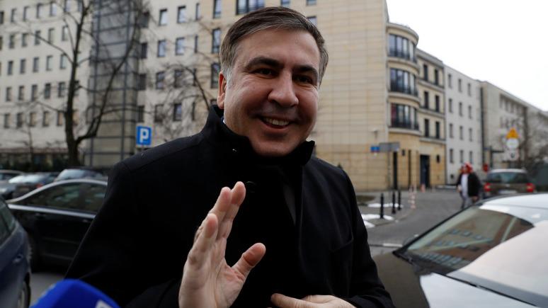 112: украинцы негативно относятся к акциям протеста Михаила Саакашвили