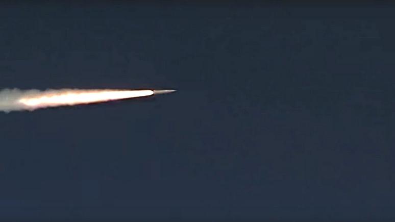 Видео с испытанием новой российской ракеты навело ужас на Daily Star