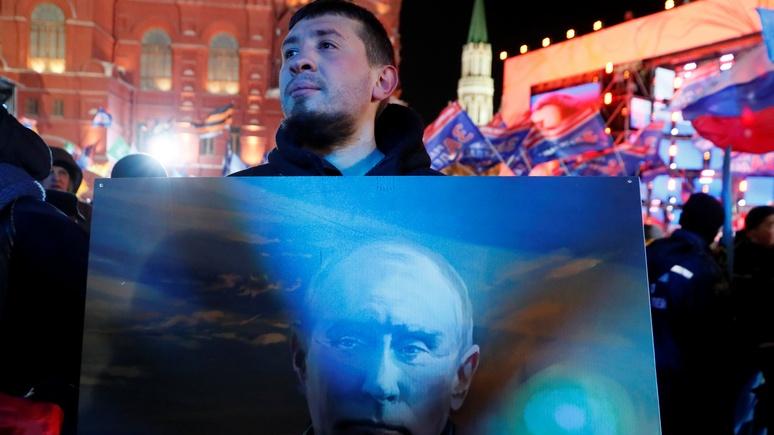 Times: Британия помогла Путину одержать безоговорочную победу на выборах