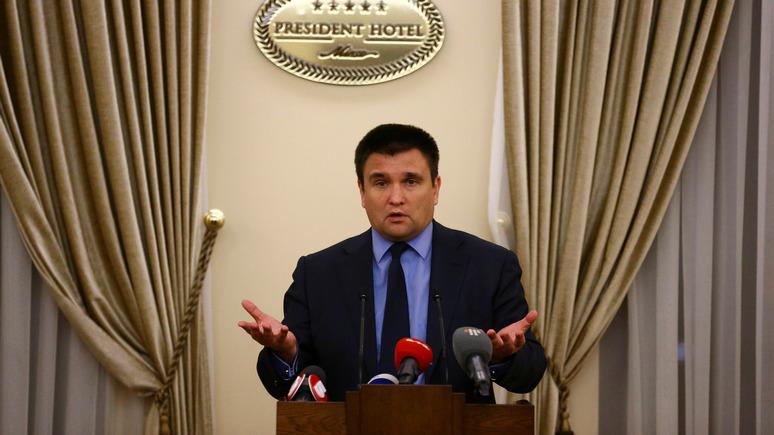Bild: Климкин призвал ввести санкции против Шрёдера за «дружбу» с Путиным