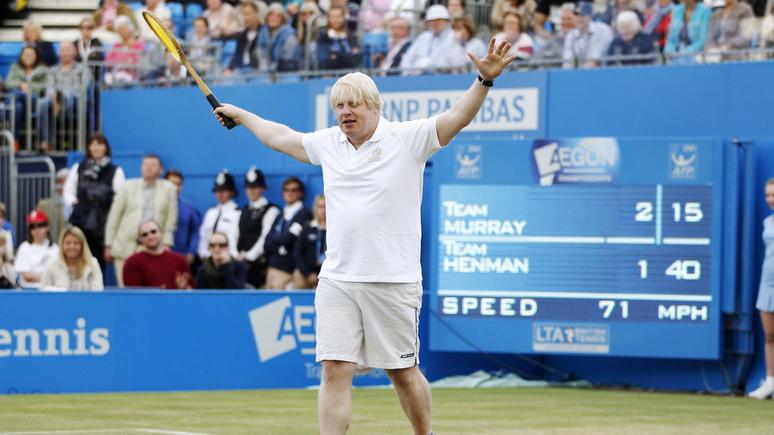 Independent: Борис Джонсон признал, что играл в теннис c женой российского экс-чиновника в обмен на пожертвование для партии