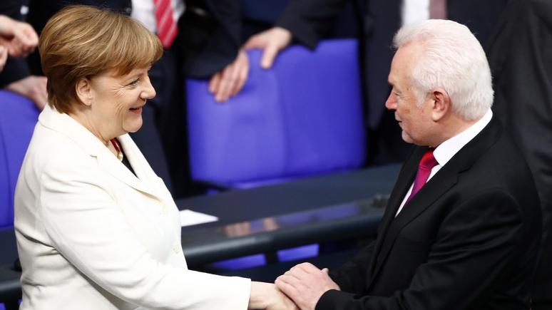 PNP: вице-президент бундестага осудил Берлин за «колоссальное высокомерие» по отношению к России