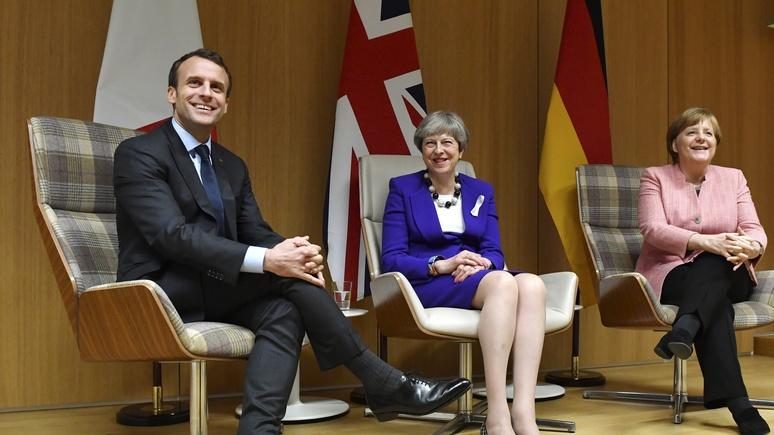 Die Welt: это успех — Брюссель отозвал посла ЕС из Москвы