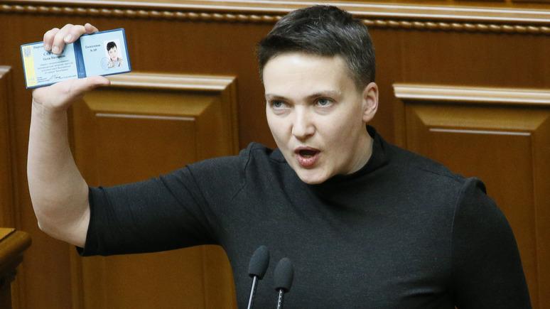 Обозреватель: Савченко предложили политическое убежище в ЛНР