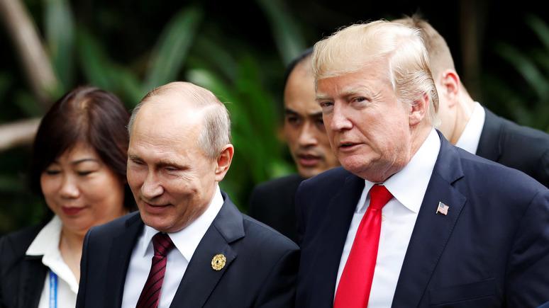 Time: за симпатиями Трампа к Путину скрывается суровая реальность