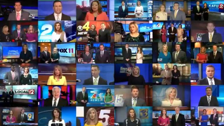 NYMag: ведущие местных американских телеканалов «в унисон» осудили фейковые новости