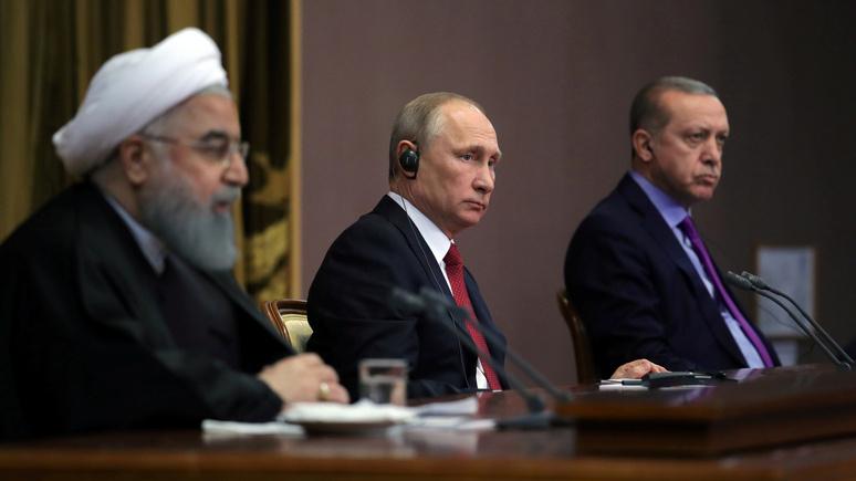L'Express: для решения сирийского конфликта «трёхстороннему союзу» недостаёт общности интересов