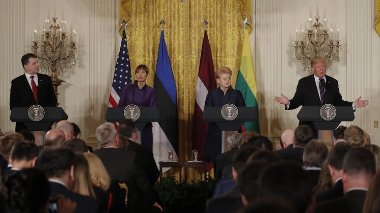 USA Today: Трамп заверил лидеров Прибалтики в своей жёсткой позиции по России