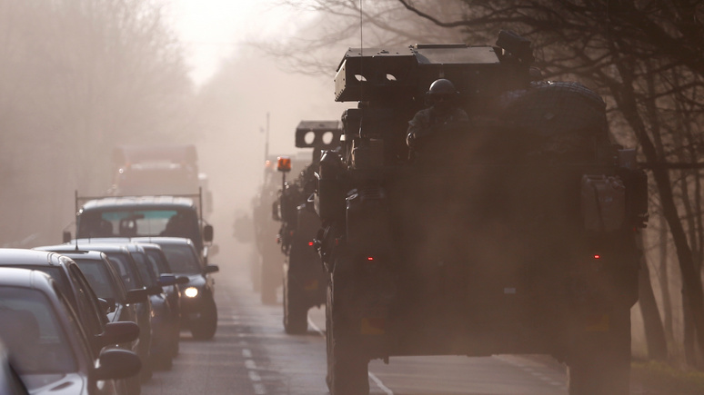 США отправили в Европу артиллерийскую бригаду для защиты от «российской агрессии»
