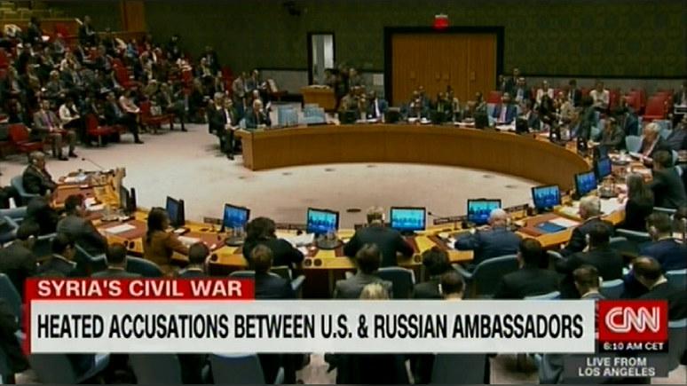 CNN: Небензя предупредил США о тяжёлых последствиях удара по Сирии