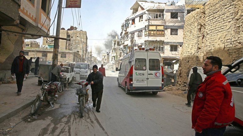 Global Times: «химатака» — повод для Запада совершить выпад в сторону Дамаска и Москвы