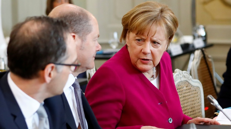 HA: Меркель напомнили про «большую ответственность» Берлина перед Москвой