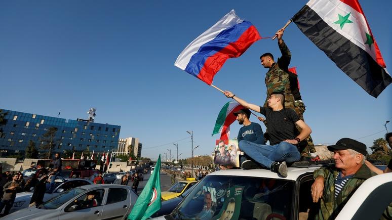 LeJDD объяснил, почему Москва по-прежнему поддерживает Асада