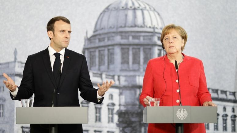 DWN: Меркель и Макрон не приблизились к компромиссу по реформированию ЕС