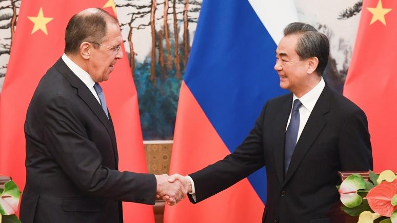 Newsweek: Россия и Китай договорились укреплять связи в противовес США