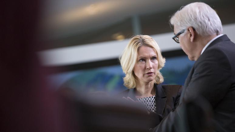 Focus: диалогу с Россией и отмене санкций немецкий политик отвела первостепенное значение