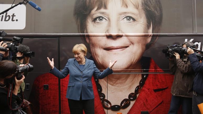 Hannoversche Allgemeine: однопартийцев Меркель отчитали за «детские капризы»
