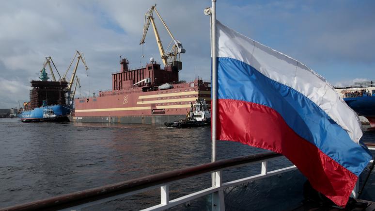 Times: плавучая АЭС «Академик Ломоносов» вызвала опасения у защитников окружающей среды
