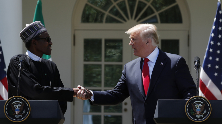 DN: на встрече Трампа с президентом Нигерии африканские страны остались за бортом