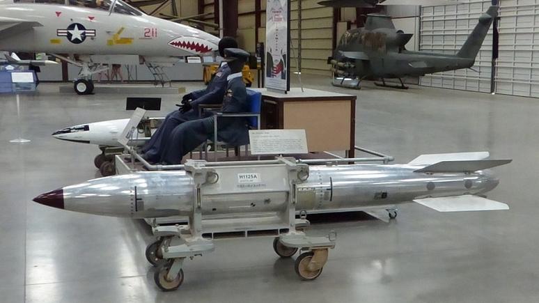 Military: США довольны испытаниями новой ядерной бомбы