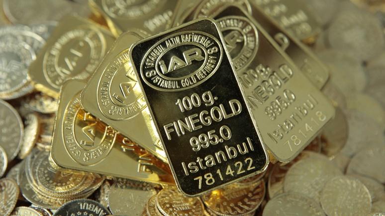 FAZ: Турция возвращает своё золото из США ради независимости от доллара