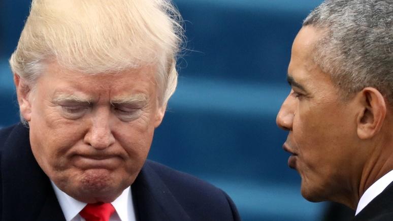 WT: «банда Обамы» преследует Трампа, чтобы скрыть правду о своих преступлениях