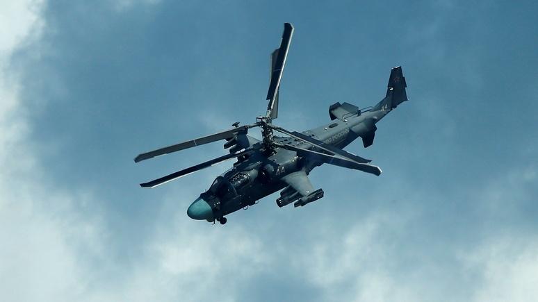 20 minutes: в Сирии потерпел крушение вертолёт ВКС России