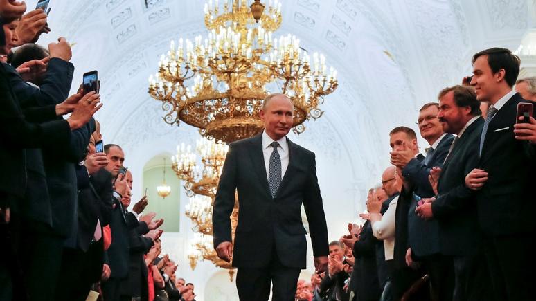 Tageszeitung: Путин наполнил россиян гордостью — а экономика подождёт