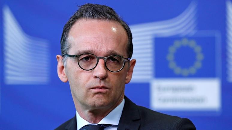 FAZ: глава МИД Германии не знает, как защитить ЕС от антииранских санкций США